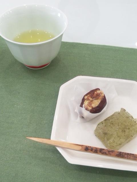 日本茶のワークショップ